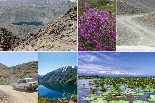 تن زخمی زیباترین دریاچه آب شیرین ایران؛گردشگری کامگهررا تلخ کرد