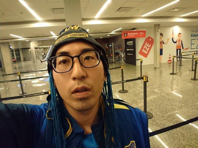33 ساعت پرواز بی نتیجه یک ژاپنی برای تماشای فینال