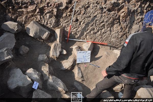 کشف اولین آثار خوارزمشاهی منطقه آذربایجان در گرمی