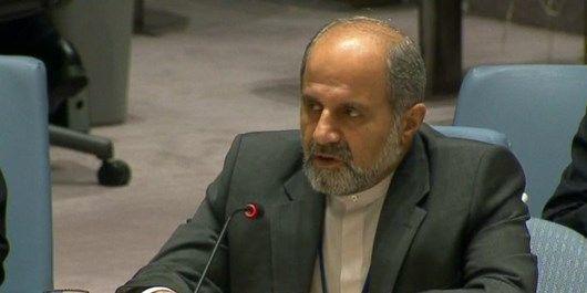 اعتراض ایران به توطئه های آمریکا علیه ایران