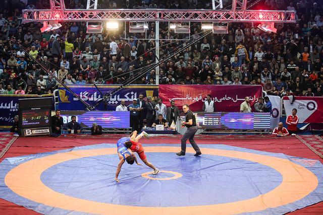 مصاف تیموری و حسن اف بهترین مبارزه جام تختی از نگاه اتحادیه جهانی