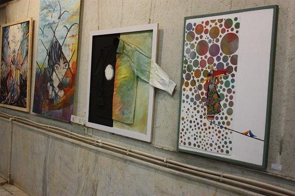 نمایشگاه هنرهای تجسمی مرند افتتاح شد