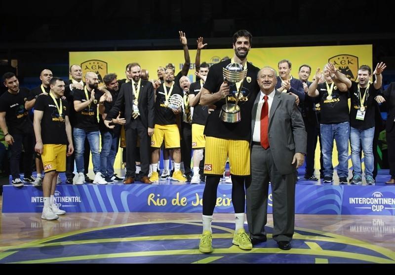 نماینده یونان قهرمان بسکتبال جام بین قاره ای شد