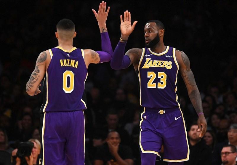 لیگ NBA، پیروزی لیکرز با درخشش جیمز، گلدن استیت از سد ساکرامنتو گذشت