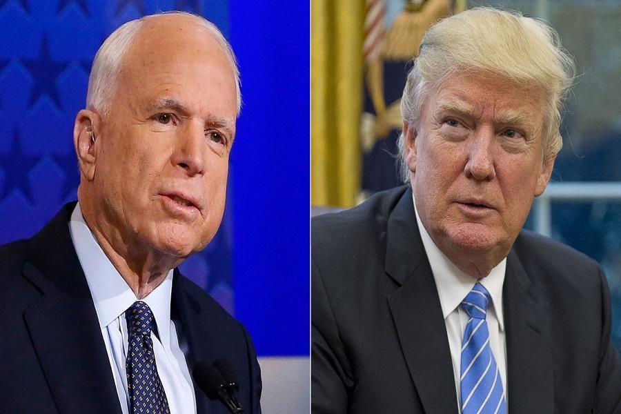 حمله ترامپ به سناتور مرده