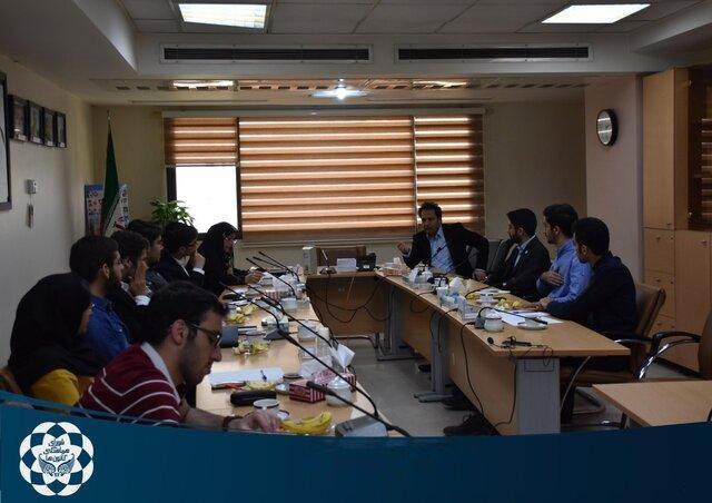 دیدار دبیران شورای هماهنگی کانون های دانشجویی با مدیرکل فرهنگی و اجتماعی وزارت علوم