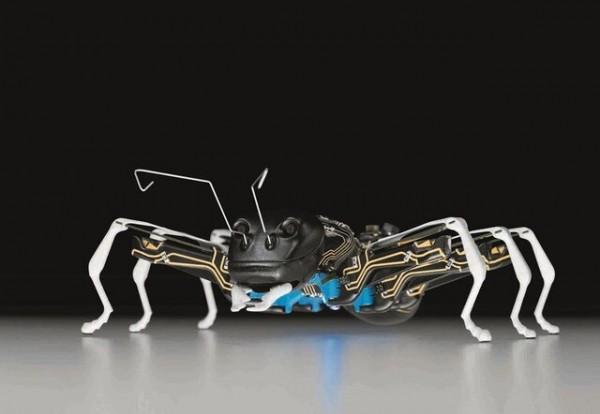 ساخت سیستم های رباتیکی با الهام از حرکات سوسک