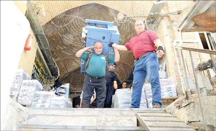 قوی ترین مردان ایران در بازار