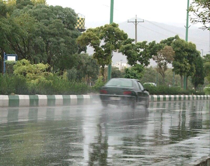 احتمال رگبار باران در تهران و بعضی استان ها