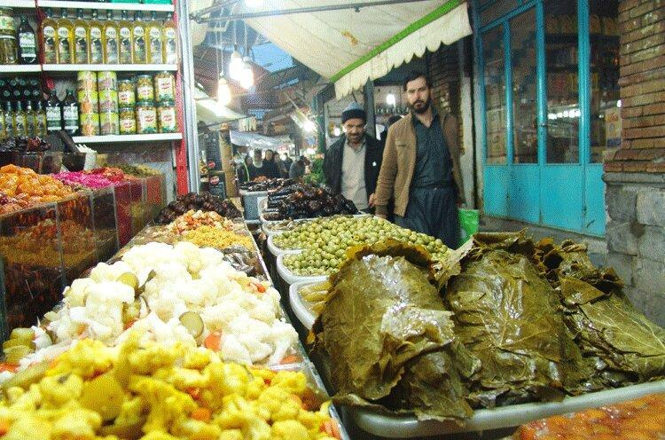 حراج سلامت در پیاده روهای شهر