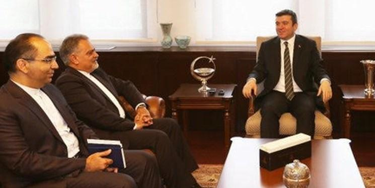 دیدار سفیر ایران با معاون وزیر خارجه ترکیه و آنالیز مسائل دوجانبه