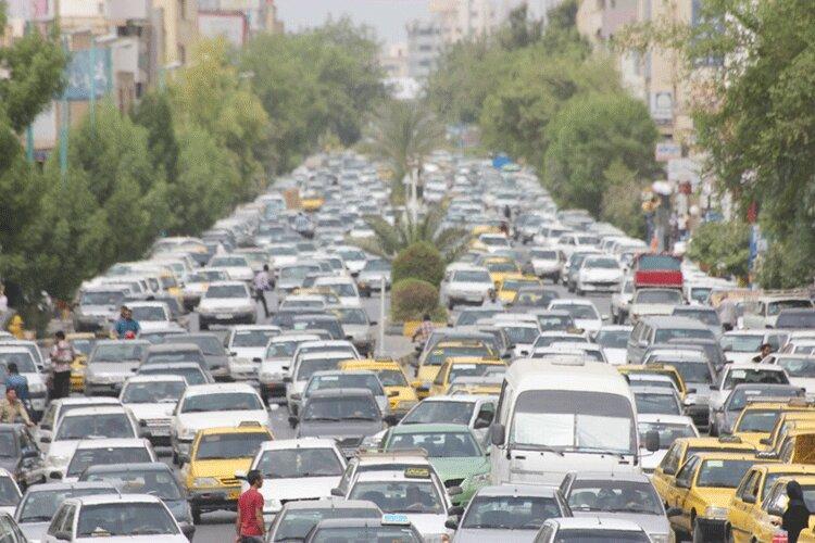 معضلی به نام ترافیک در بندرعباس