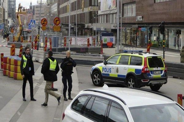تیراندازی پلیس سوئد به فردی با رفتار مشکوک و تحریک آمیز