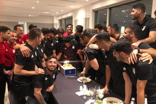 برگزاری مراسم جشن تولد مسعود شجاعی در سئول