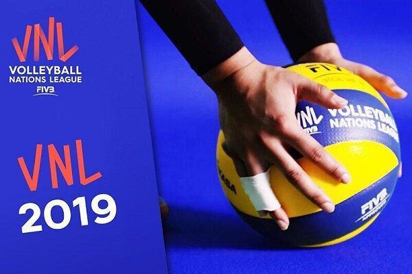 تیم های والیبال حاضر در لیگ ملت های دنیا فردا وارد ارومیه می شوند