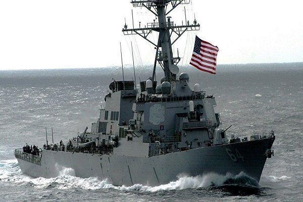 ناوشکن آمریکایی زیر ذره بین نیروی دریایی روسیه