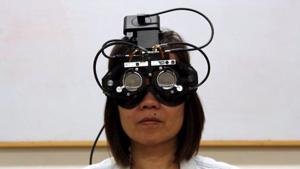 عینکی که راستا نگاه کاربر را ردیابی می نماید
