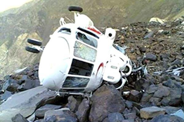 7 کشته در سقوط یک بالگرد در باهاما