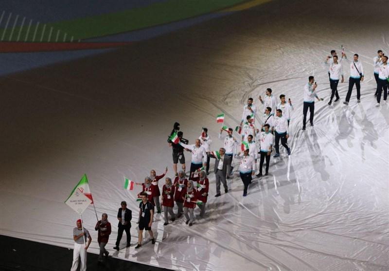 سی امین دوره یونیورسیاد رسماً شروع شد، رژه کاروان ایران با پرچمداری خدمتی