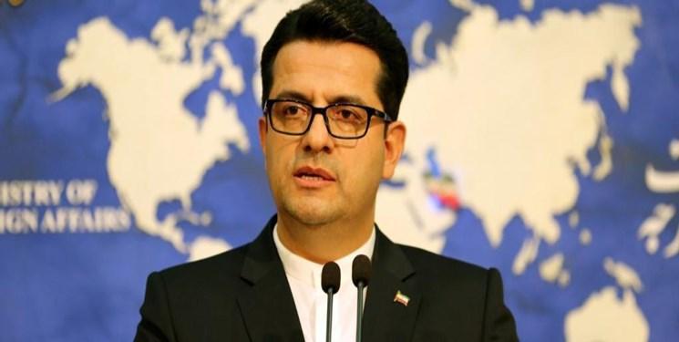 موسوی اقدامات تحریک آمیز آمریکا و انگلیس در تایوان و هنگ کنگ را محکوم کرد