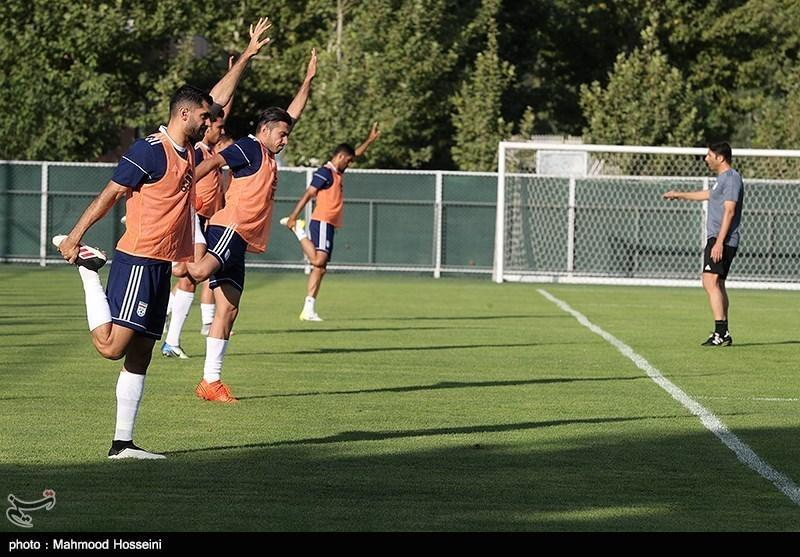 گزارش تمرین تیم ملی، ویلموتس وظایف را تقسیم کرد، مانو فریرا به میدان آمد