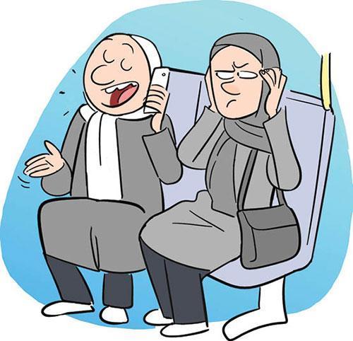 معضلات فرهنگی در اتوبوس؛ از بوی عرق تا خواستگاری