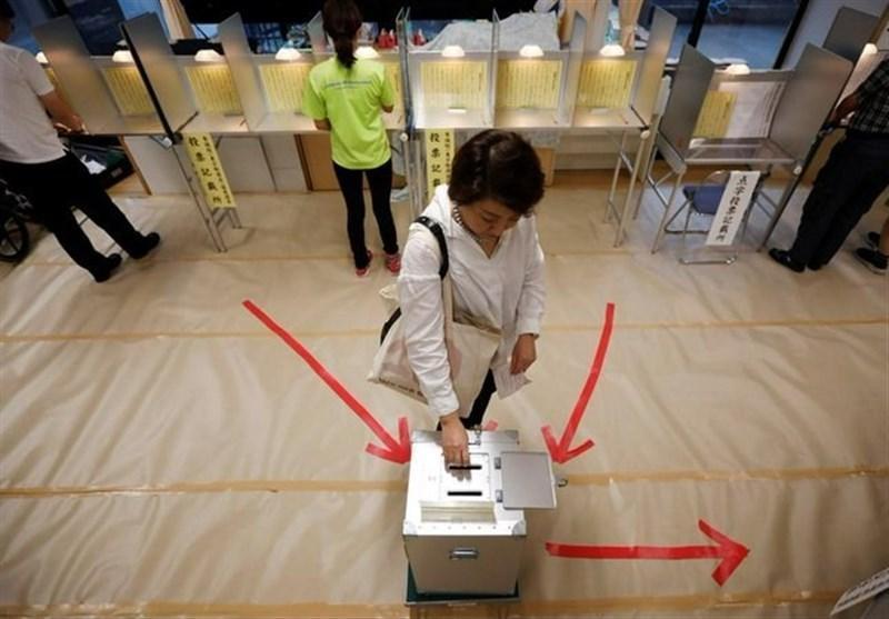 شروع انتخابات پارلمانی در ژاپن