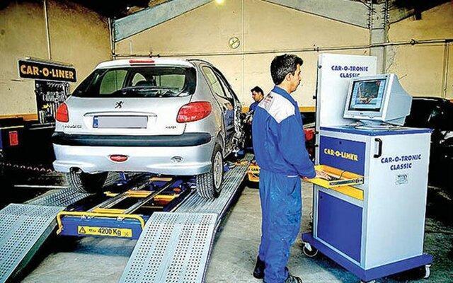 شروع بکار دو دستگاه خودروی تست کنار جاده ای معاینه فنی در تهران