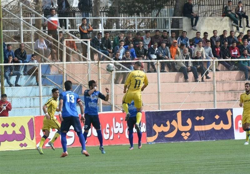 لیگ دسته اول فوتبال، شکست سنگین فجرسپاسی و پیروزی خوشه طلایی در جدال تازه واردها