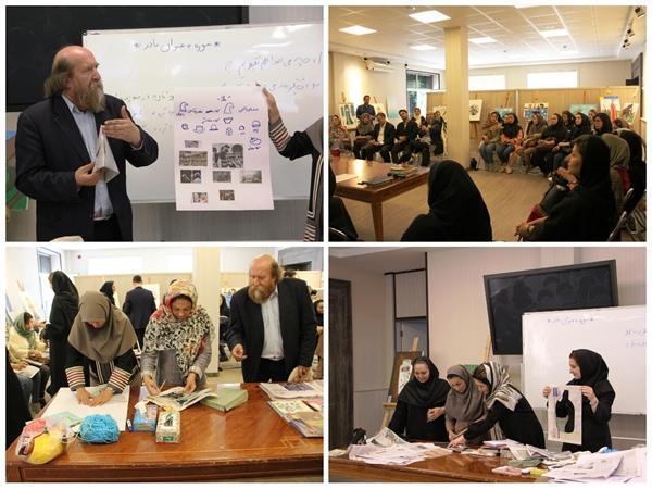 بازدید معاونان میراث فرهنگی و صنایع دستی از نمایشگاه نقشستان بلوچ در نیاوران