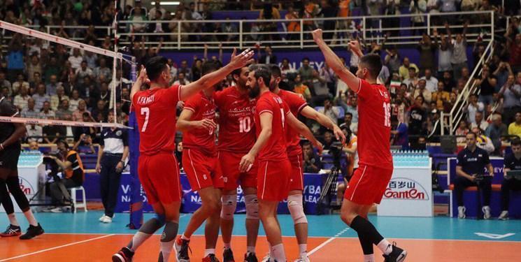 جدول لیگ ملت های والیبال 2019؛ بلندقامتان ایران بالاتر از غول های جهانی!