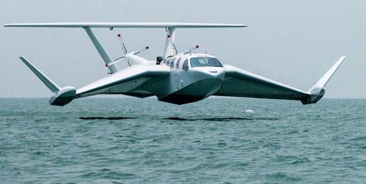 تولید هواپیمایی که بر روی آب هم با سرعت بالا حرکت می کند