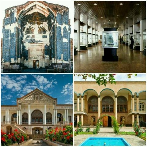افزایش ساعات کاری موزه ها و اماکن تاریخی تبریز تا خاتمه شهریورماه