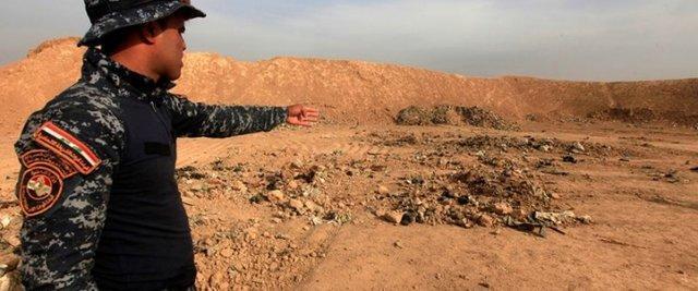 وجود 200 گور دسته جمعی از قربانیان داعش در عراق