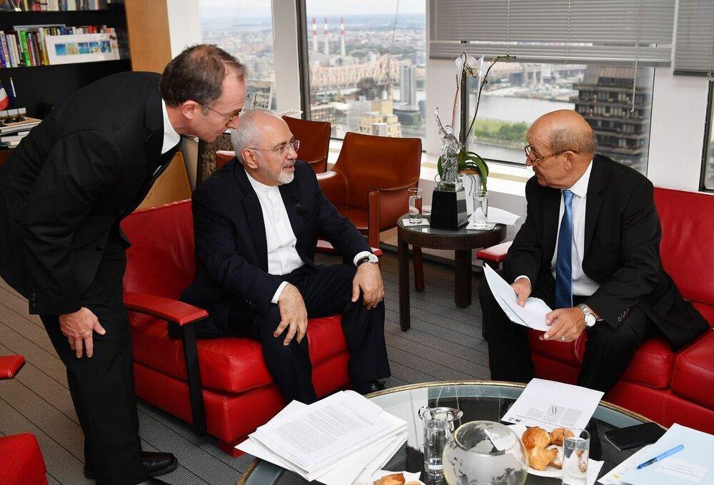 الیزه : مذاکرات با ظریف مثبت بود، رایزنی با تهران ادامه می یابد