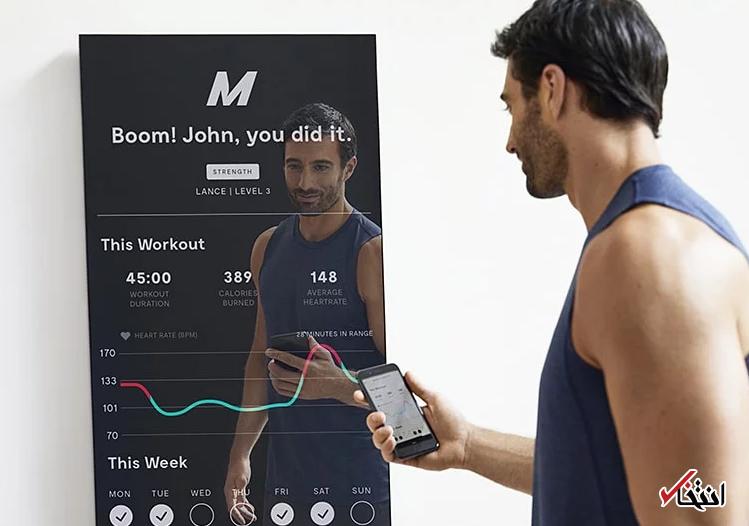 معرفی آینه تعاملی هوشمند ویژه بدنسازهای وسواسی