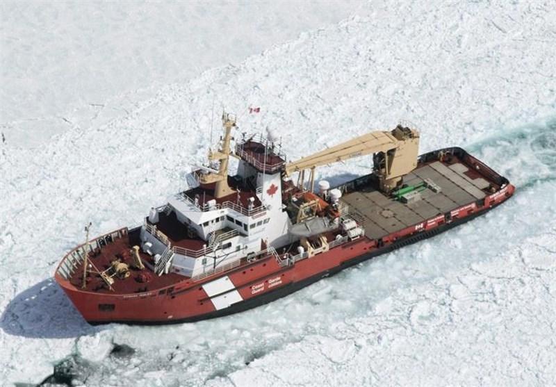 تصاویر محصور در یخ