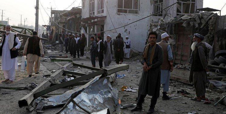 انفجار در منطقه دیپلماتیک کابل، عکس