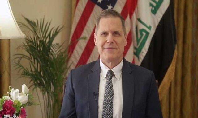 سفیر آمریکا مسؤولیت کشورش در حمله به مواضع حشد شعبی در عراق را تکذیب کرد