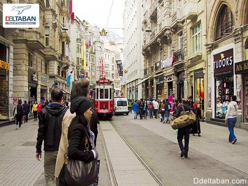 آشنایی با خیابان استقلال استانبول و ویژگی های این خیابان