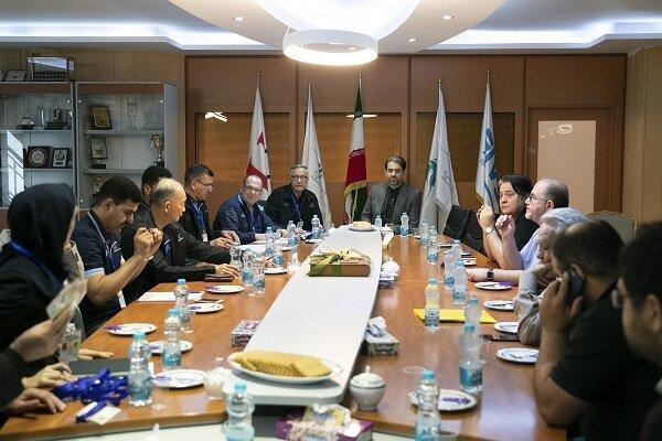 جلسه هماهنگی کمیته های کنترل و برگزاری مسابقات آسیایی برگزار گردید