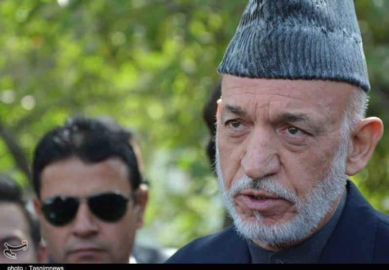 کرزی: برقراری صلح در افغانستان در صورت خروج آمریکا ممکن است