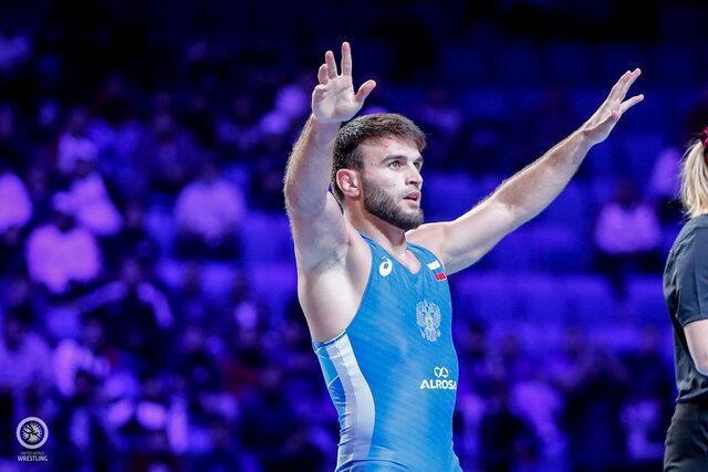 2 مدال طلا برای روسیه در 2 وزن نخست کشتی آزاد قهرمانی دنیا