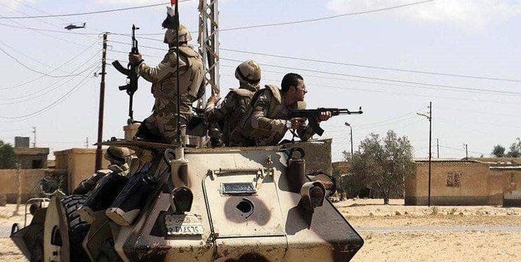 کشته شدن 15 تروریست در درگیری با نیروهای امنیتی مصر