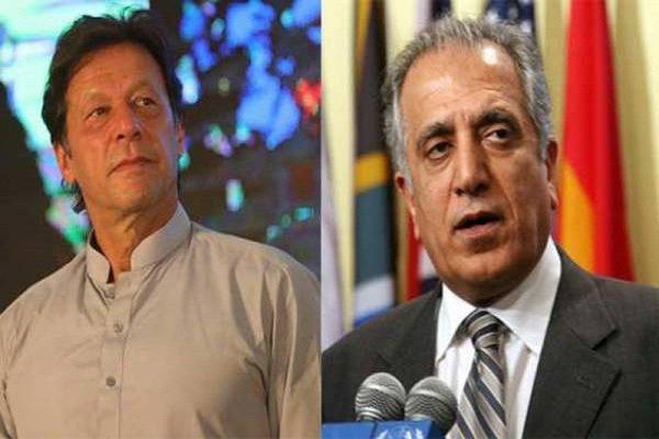 مذاکرات واشنگتن-طالبان محور دیدار خلیل زاد و عمران خان