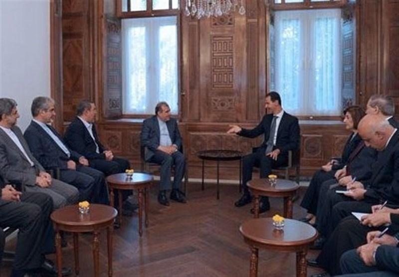 اسد: آمریکا و غرب از تحقق اهدافشان ناامید شده اند، تاکید بر ادامه هماهنگی با ایران و روسیه