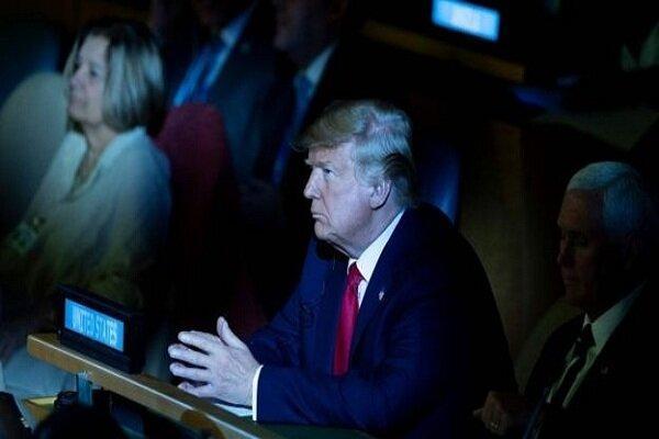 حضور سرزده ترامپ در نشست فوق العاده سازمان ملل