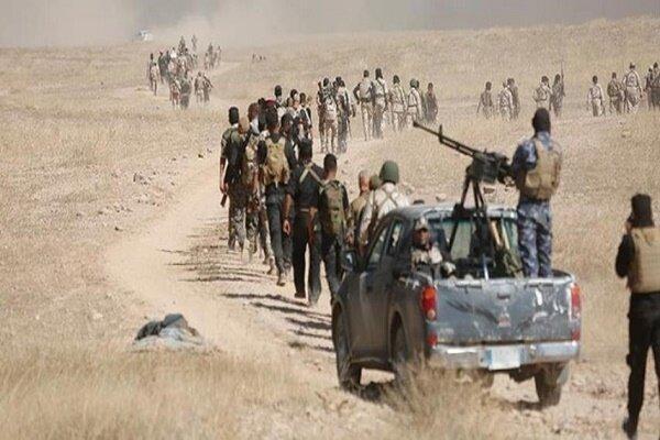 خنثی سازی کوشش تکفیری ها برای هدف قرار دادن بغداد توسط حشد شعبی