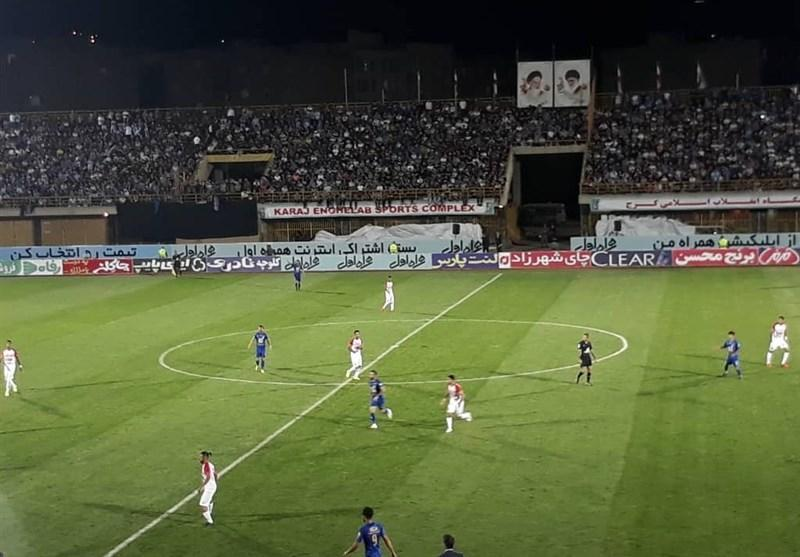 جام حذفی فوتبال، تساوی یک نیمه ای استقلال مقابل گل ریحان