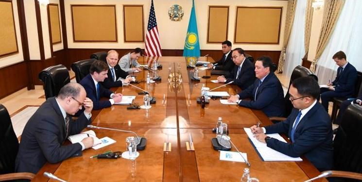 روابط تجاری محور دیدار نخست وزیر قزاقستان با معاون وزیر خارجه آمریکا